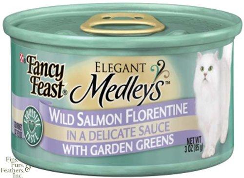 Purina Fancy Feast Emdl Canned Cat Food Salmon/Flor 3Oz (24)