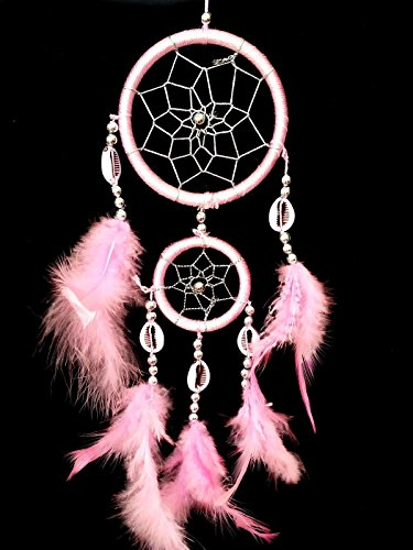 Handmade-Dream-Catcher-with-feathers-car-or-wall-hanging-decoration-ornament-14 (Elvis Scarves)