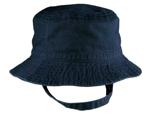 YogaColors Baby Sun Protection UPF30 Bucket Hat (Navy)