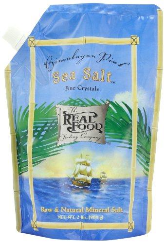 Funfresh Foods Real Food Trading Company Himalayan Pink Sea Salt, 2-Pound (Sea Salt Real Food compare prices)