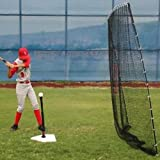 Heater Sports Spring Away Tee & Big Play Net by Heater Sports