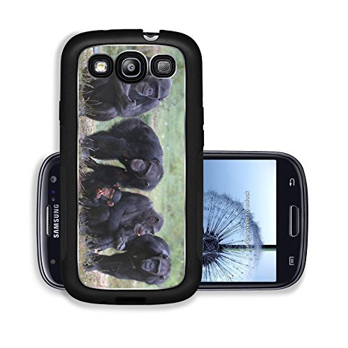Luxlady Premium Samsung Galaxy S3 Aluminium Snap Case When Monkey s Go Bad IMAGE ID 221188