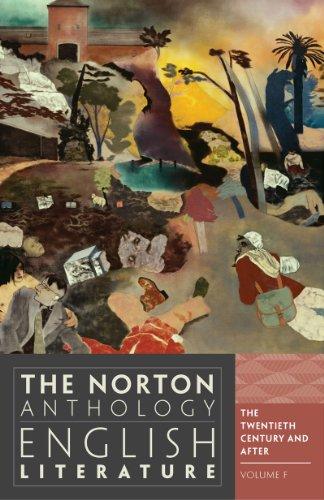 the-norton-anthology-of-english-literature-20th-century
