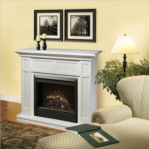 Cheap Dimplex Caprice Free Standing Electric Fireplace In White Shopping Online In Usa