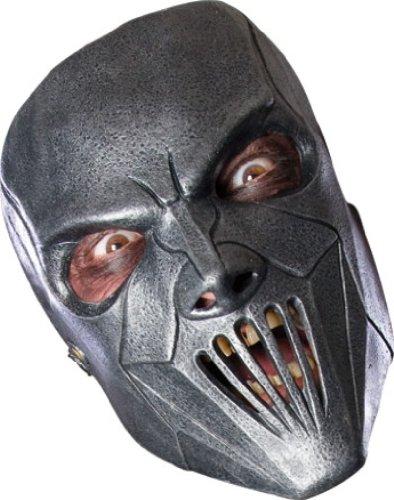Slipknot Latex Full-Face Mask, Mick, Grey, One Size