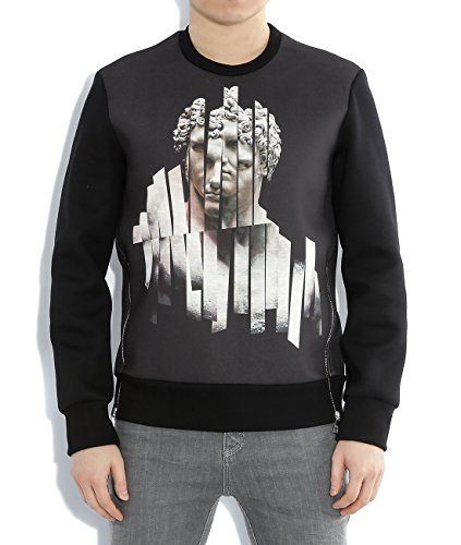 wiberlux-neil-barrett-mens-shredded-sculpture-print-sweatshirt-l-black
