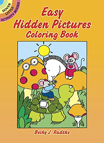 Easy Hidden Pictures Coloring Book (Dover Little Activity Books)