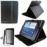 """Noir PU cuir Étui-support housse en pour ARCHOS 80 G9 & TURBO 8"""" 8 pouce inch tablette PC + Protège-écran + Stylet"""