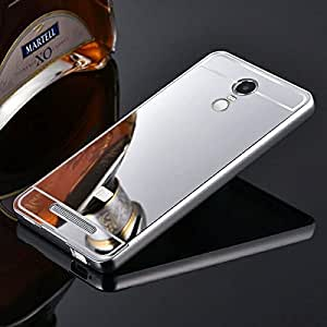 Luxury Mirror back cover for Xiaomi Redmi Note 3 Silver