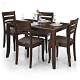 Royal Oak Victor Four Seater Dining Table Set (Brown)