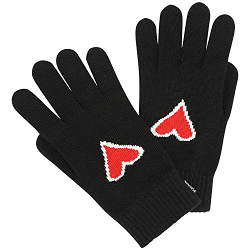 moschino-womens-gloves-black-one-size