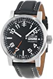 """Fortis Men's 623.10.41 L.01 """"Spacematic"""" Stainless Steel Automatic Watch with Leather Band"""