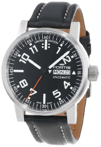 fortis-spacematic-classic-automatic-watch-eta-2836-2-black-limit-edition