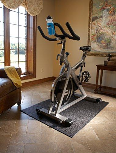 Supermats Heavy Duty P.V.C. Mat for Treadmills/Ski Machine (2.5-Feet x 6-Feet)
