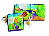 Manhattan Toy Soft Activity Book with Tethered Toy, Sunny Day