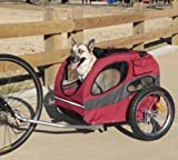 Track'r HoundAbout Pet Bicycle Trailer for Dogs – MED up to 50lbs