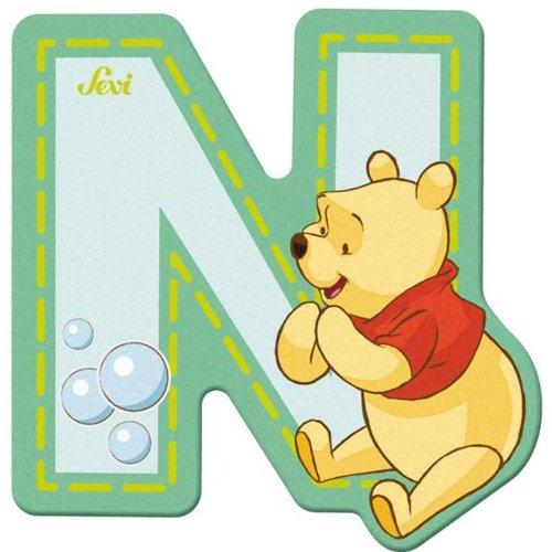 Sevi 82772 Klebebuchstabe N Winnie the Pooh