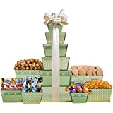 Wine Country Gift Baskets Chocolate and Cookie Tower