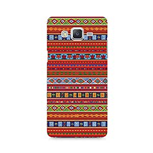 Motivatebox - Ethnic Pattern Abstract Samsung Galaxy Grand 2 G7106 cover - Polycarbonate 3D Hard case protective back cover. Premium Quality designer Printed 3D Matte finish hard case back cover.