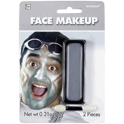 Silver Face Makeup
