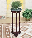 Round Marble Top Plant Stand by Coaster Furniture