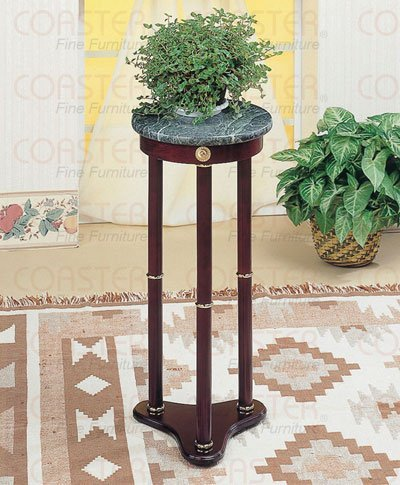 Coaster Cappuccino Plant Stand front-147260