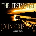 The Testament (       UNABRIDGED) by John Grisham Narrated by Frank Muller