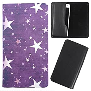 DooDa - For Spice Smart Flo Poise 451 PU Leather Designer Fashionable Fancy Case Cover Pouch With Smooth Inner Velvet