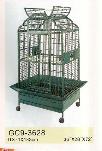 Vogelkäfig Papageien Voliere 91x171x183 cm