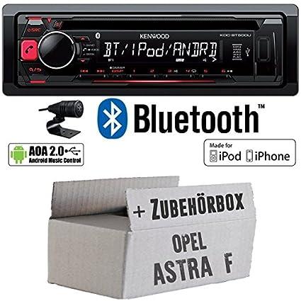 OPEL ASTRA F-Kenwood-bt500u-Autoradio CD/MP3/USB Bluetooth-Kit de montage