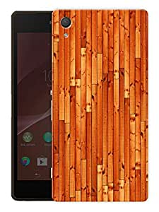 "Wooden Pattern Printed Designer Mobile Back Cover For ""Sony Xperia Z3"" (3D, Matte, Premium Quality Snap On Case)"