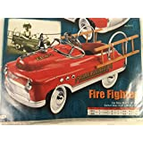 Fire Truck Pedal Car - 1950 Style