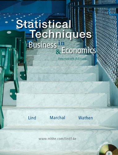 Statistical Techniques in Business and Economics with...