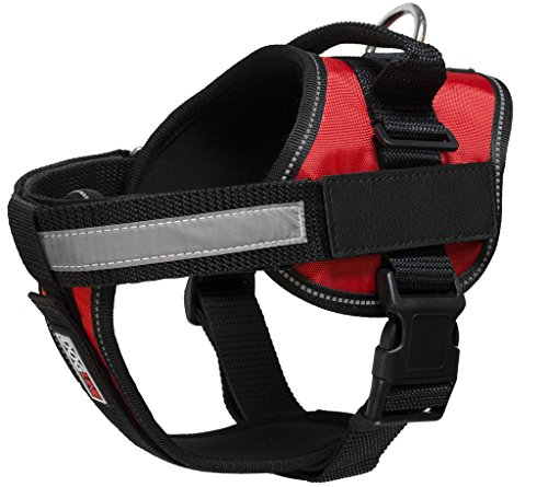 Dogline Unimax Multi-Purpose Vest Harness for Dogs and 2 Removable DIY Customizable BLANK Patches (Diy Dog Harness compare prices)