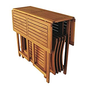 Tavoli da giardino in legno pieghevoli idee creative e - Tavoli pieghevoli da giardino ...