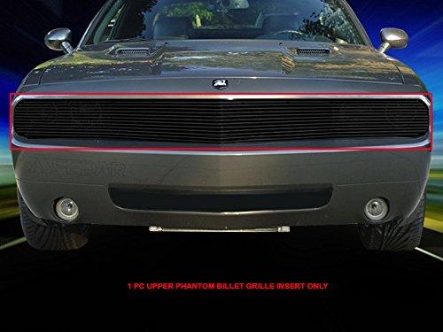 fedar-2009-2014-dodge-challenger-phantom-bolt-over-style-billet-grille-grill-1-pc-set-black-320521-b