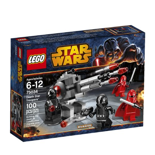 LEGO Star Wars 75034 Death Star Troopers 100 pieces (Imperial Gunner Helmet compare prices)