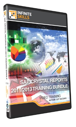 Learning Crystal Reports 2013 / 2011 - Discounted Video Training Bundle