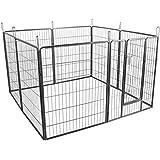 Outsunny recinto per cuccioli recinzione per animali for Recinto per cani amazon