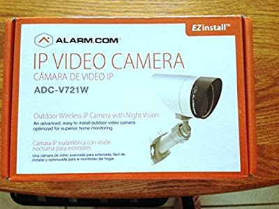 Alarm.com V721w Outdoor Wireless Ip Ir Nightvision Bullet Camera
