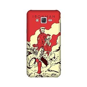 Yashas Samsung Galaxy J7 2015 Edition Designer Printed Case & Covers (Samsung Galaxy J7 2015 Edition Back Cover) - Superhero Ironman
