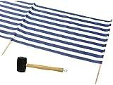 IDENA Windschutz ca.800x80cm für Strand, Camping und Garten...