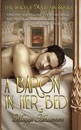 A Baron In Her Bed  (The Spies of Mayfair, #1)