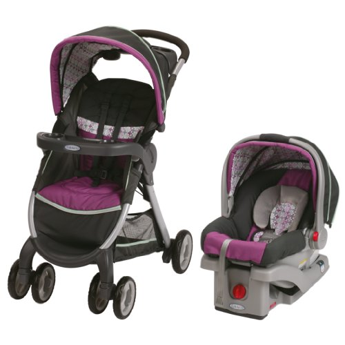 Find Bargain Graco FastAction Fold Stroller Click Connect Travel System, Nyssa