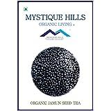 MYSTIQUE HILLS - ORGANIC JAMUN SEED POWDER TEA (PREMIUM QUALITY) (100 GR)