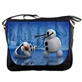 Cute Snowman Olaf FROZEN Shoulder Messenger School College Work Collectible Bag