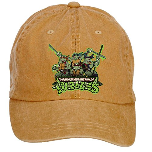 DESBH Unisex TMNT Ninja Turtles Design Baseball Caps