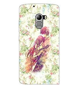 PrintDhaba Couple D-3708 Back Case Cover for LENOVO VIBE X3 LITE (Multi-Coloured)