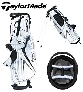 TaylorMade Micro-Lite 2.0 Stand Bag (White/Black/White)