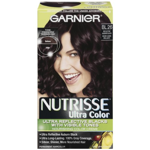 Garnier Nutrisse Permanent Haircolor, Bl 26 Reflective Auburn Black at Amazon.com